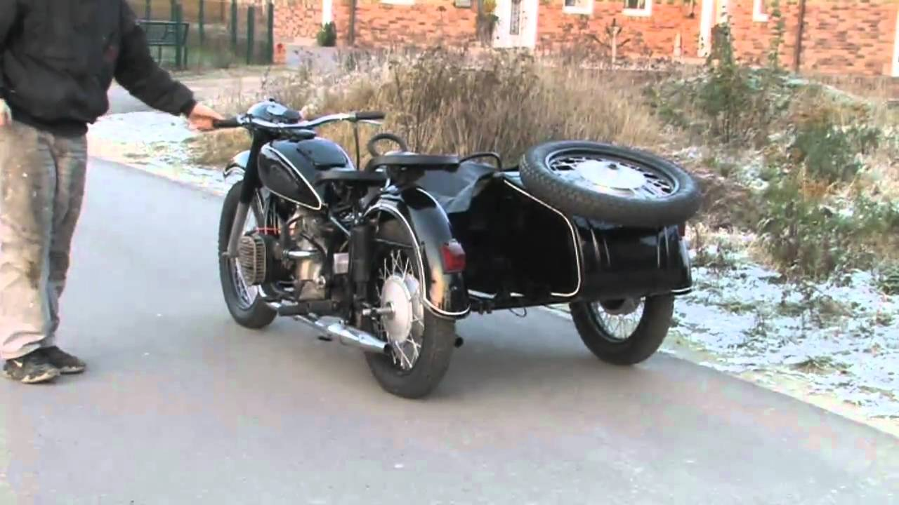 Ural M-63 with sidecar 1971 images #127349