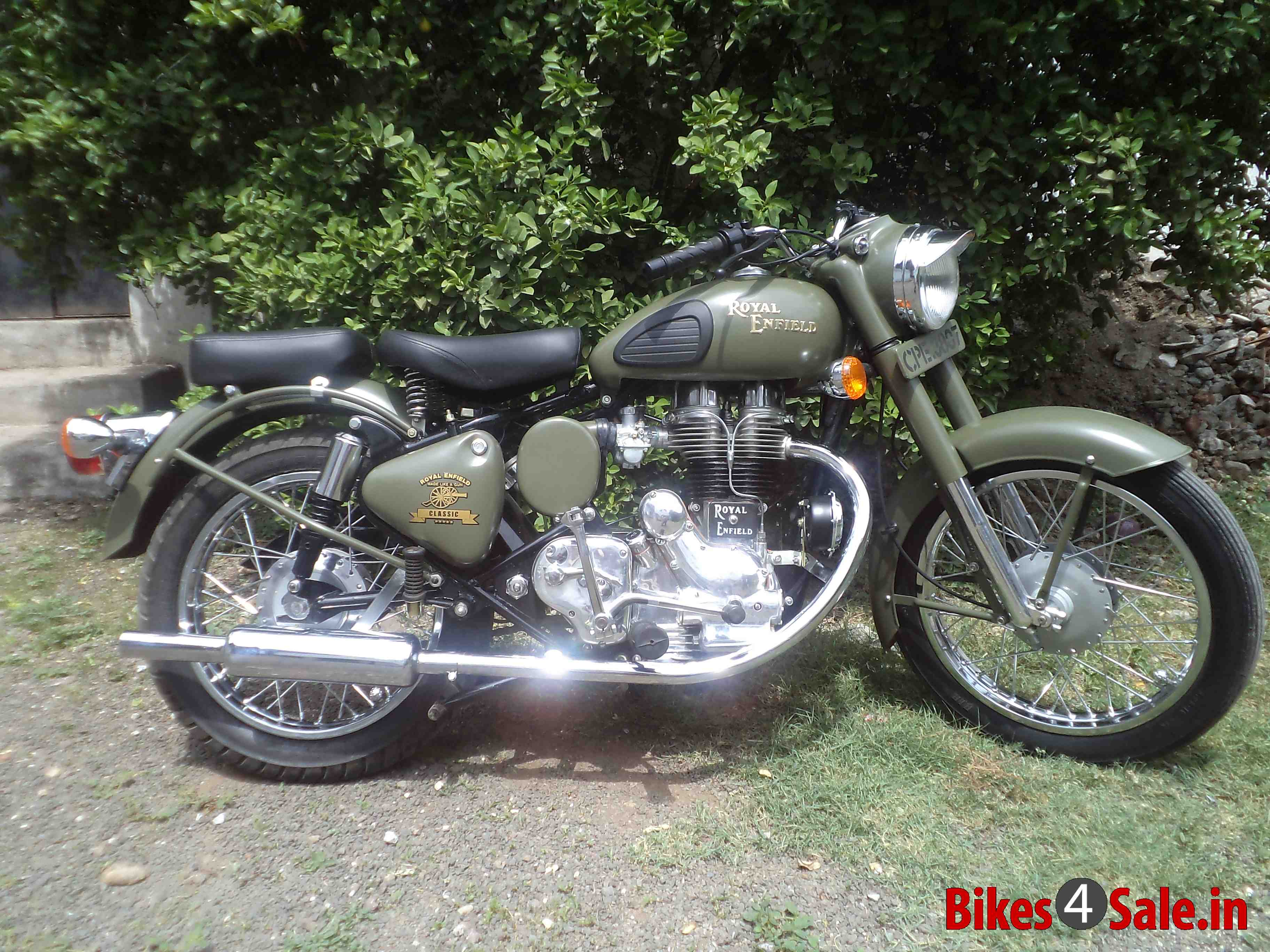 Royal Enfield Bullet 350 Army 2001 images #123112