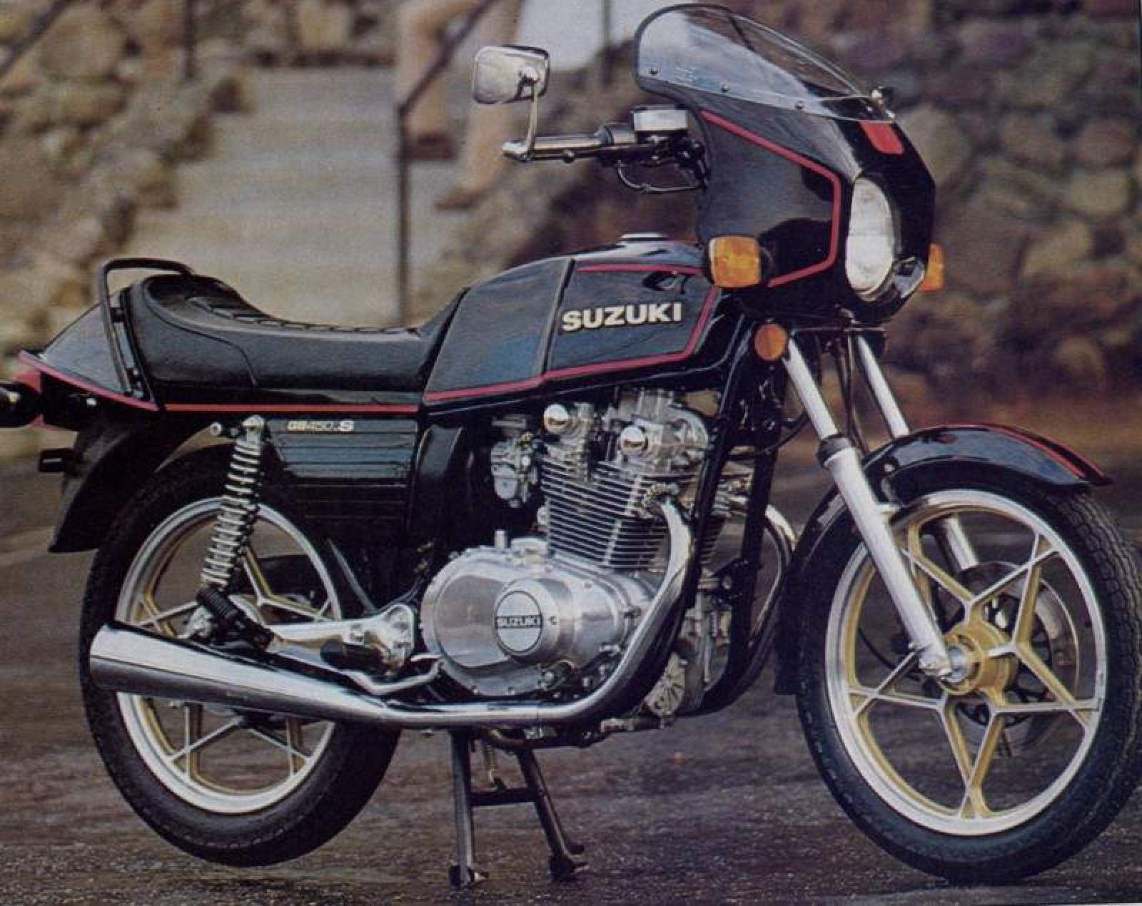 Suzuki SR 370 1981 wallpapers #142618