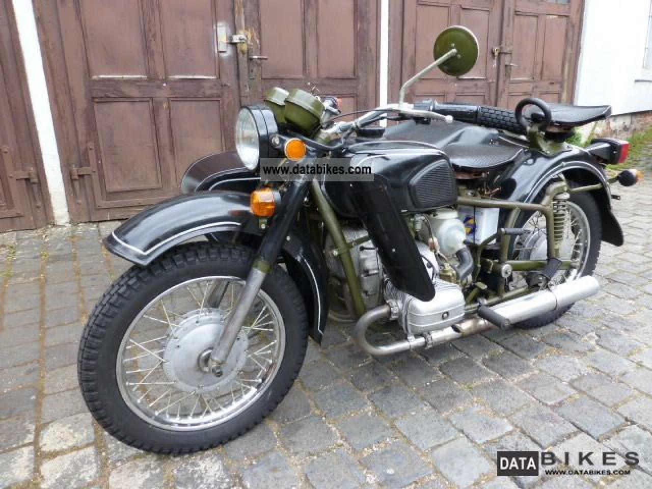 Dnepr MT 12 with sidecar 1983 images #95458