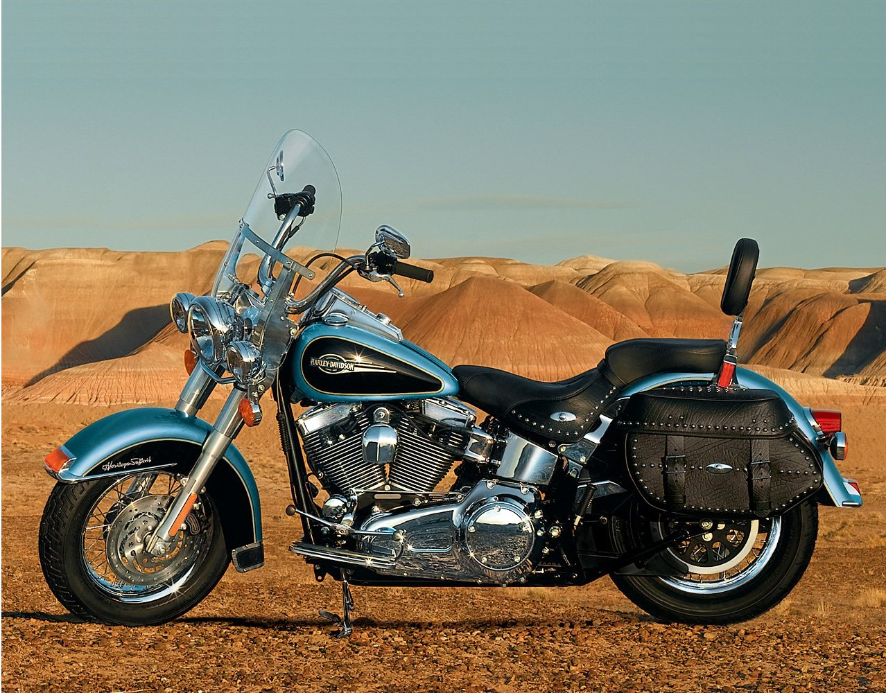 Harley-Davidson FLSTC Heritage Softail Classic 2007 wallpapers #134391