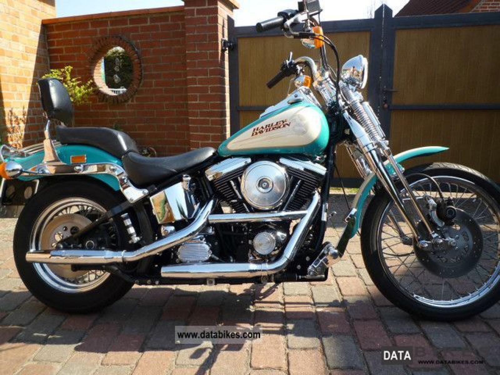1992 Harley Davidson FXSTS Springer Softail Pics Specs And