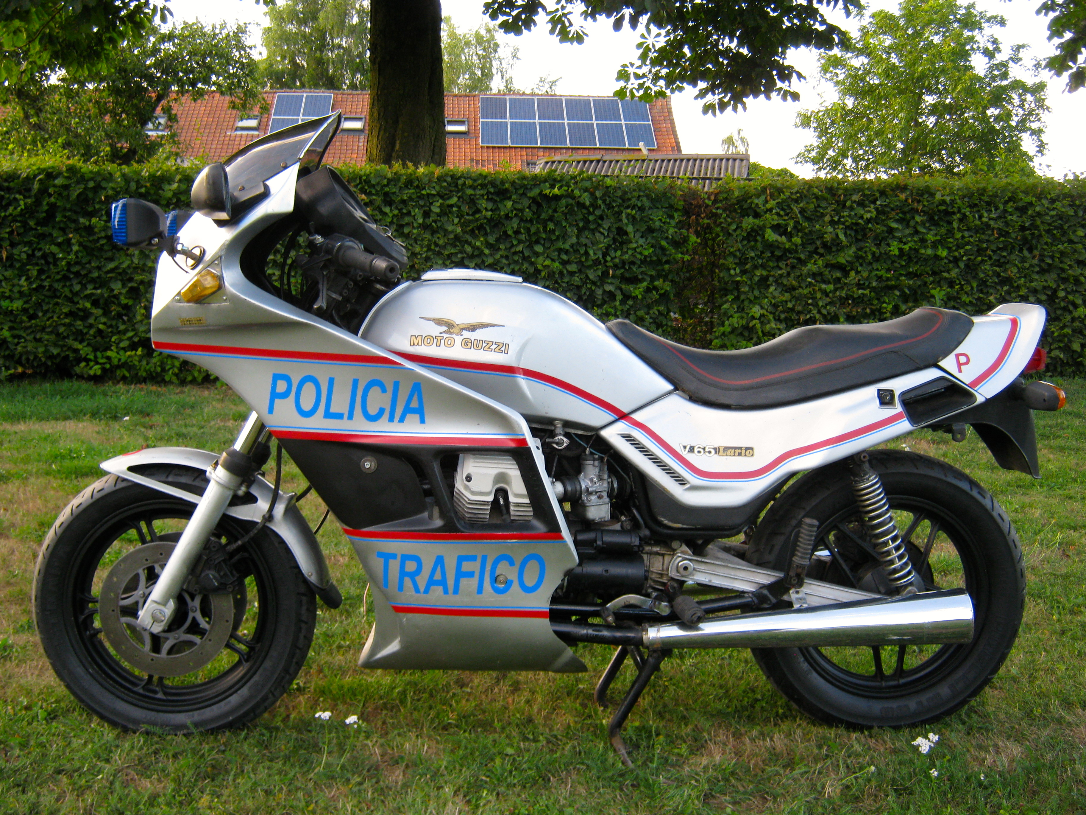 Moto Guzzi V65 Lario 1986 wallpapers #161066