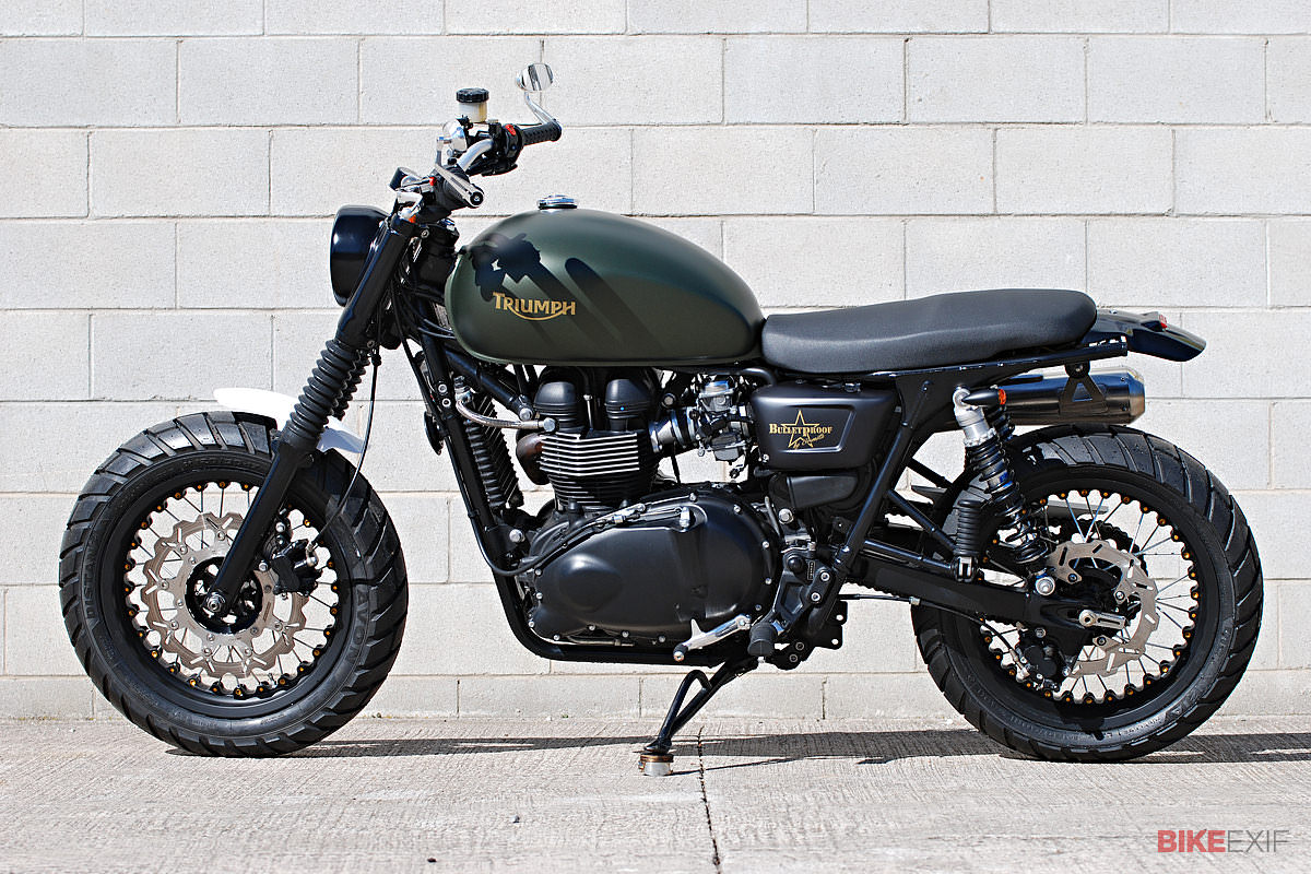 Triumph Scrambler wallpapers #130424