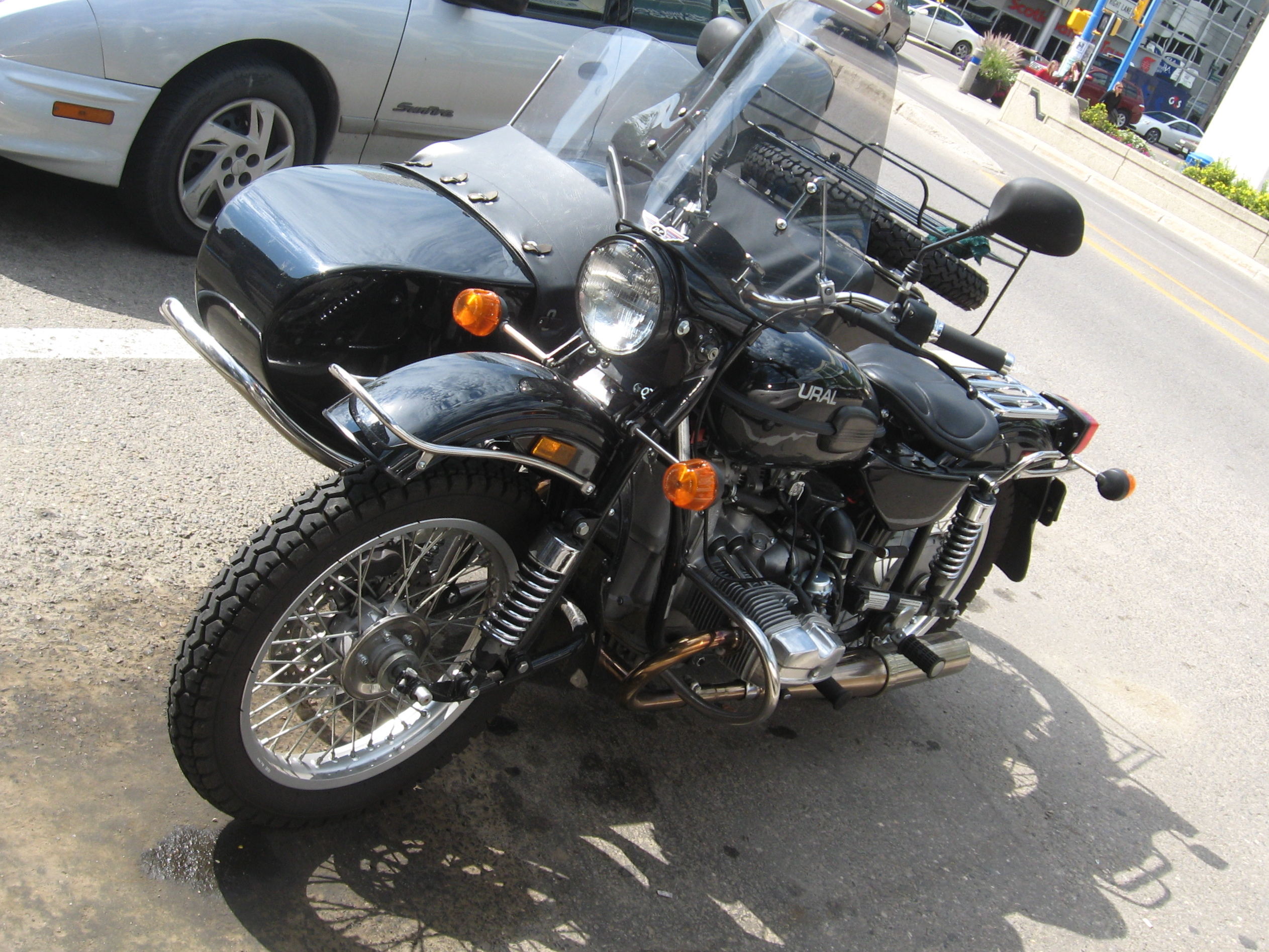 Ural M-63 with sidecar 1975 images #127078