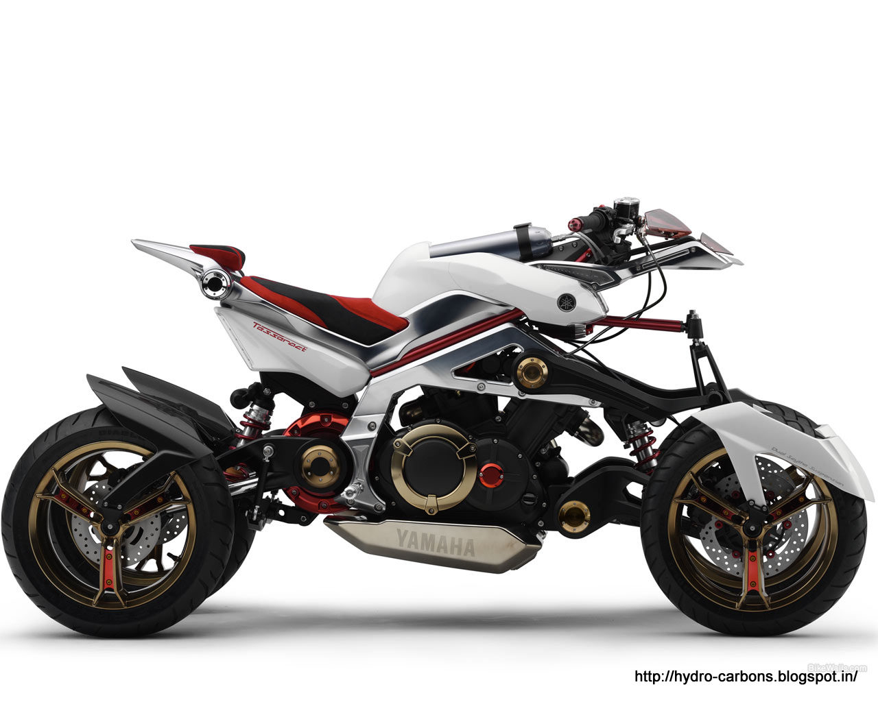 Yamaha Tesseract Concept 2007 wallpapers #136268