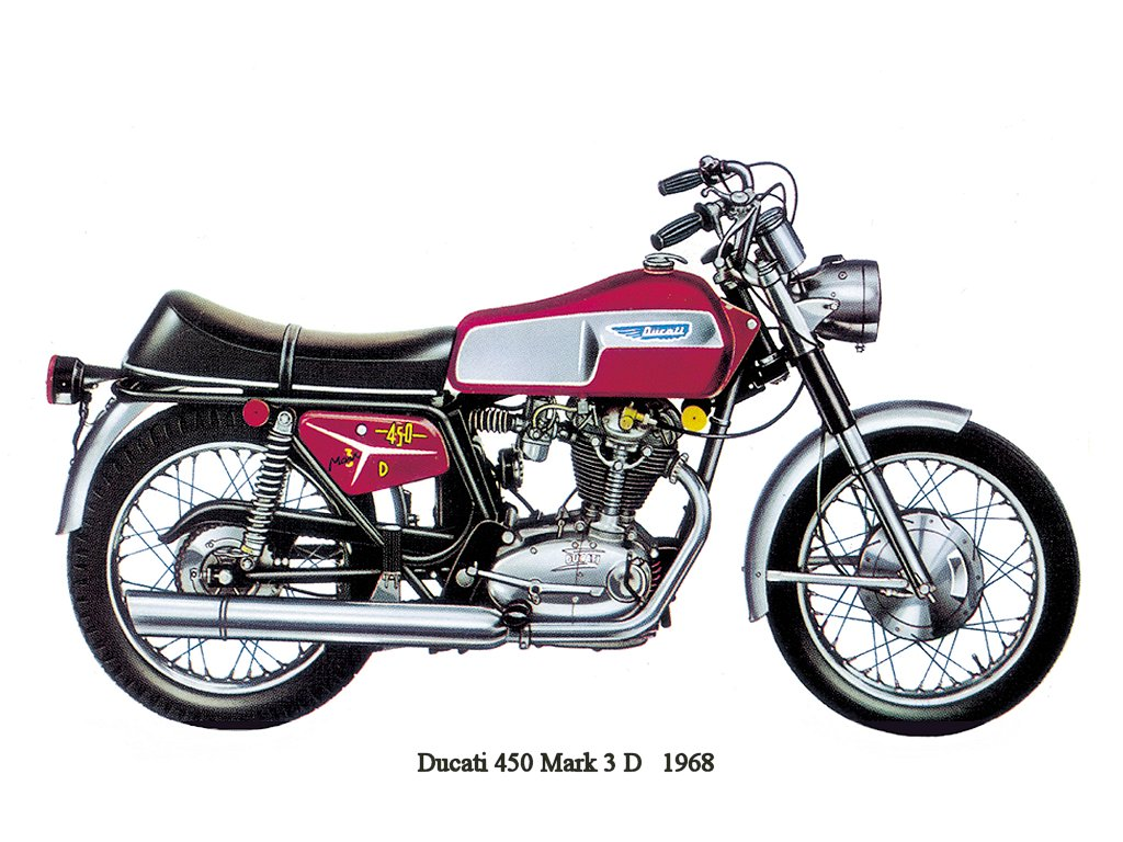 Ducati 450 Mark 3 1970 images #171183