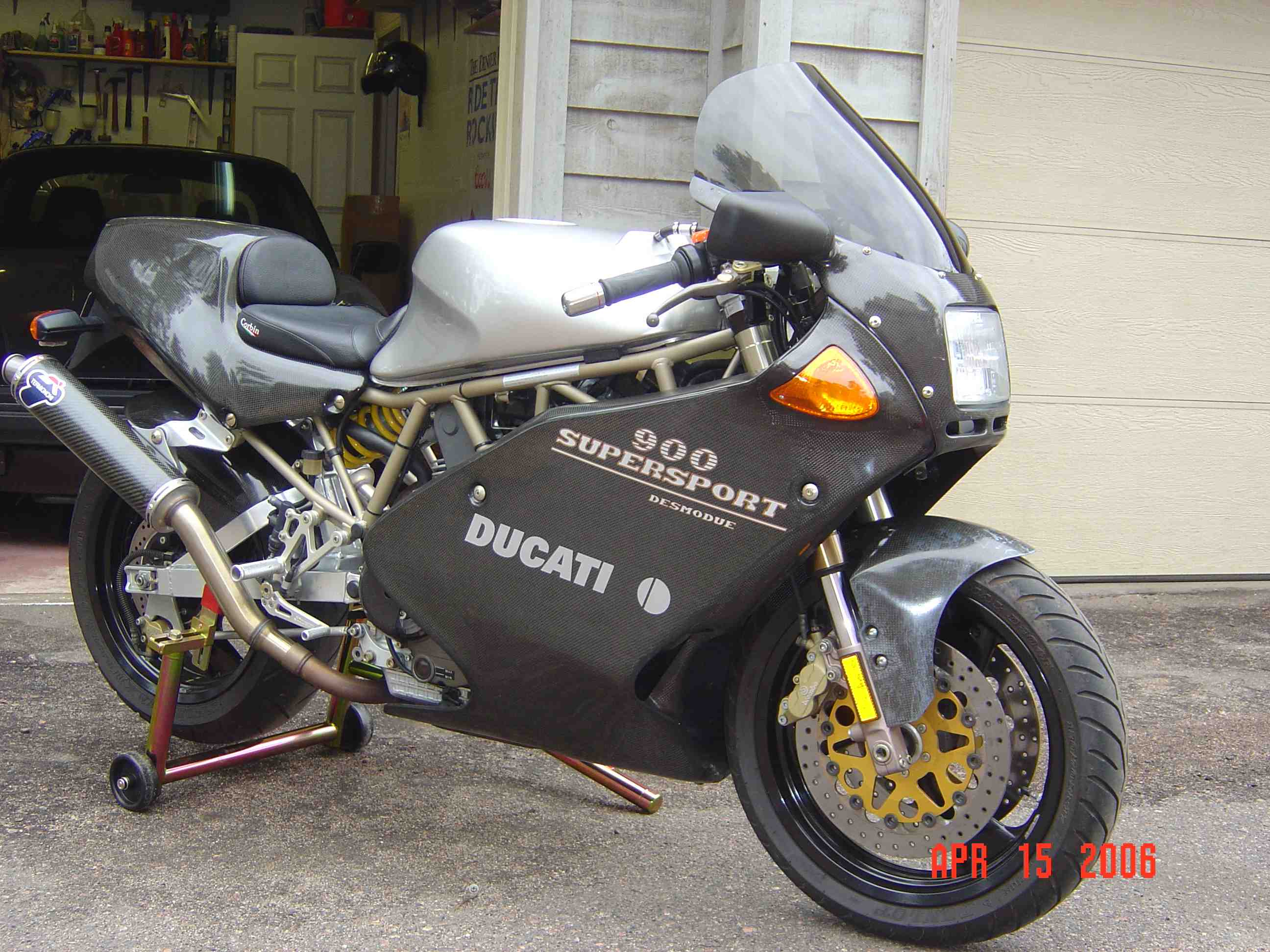 Ducati 900 SS FE 1998 wallpapers #156303