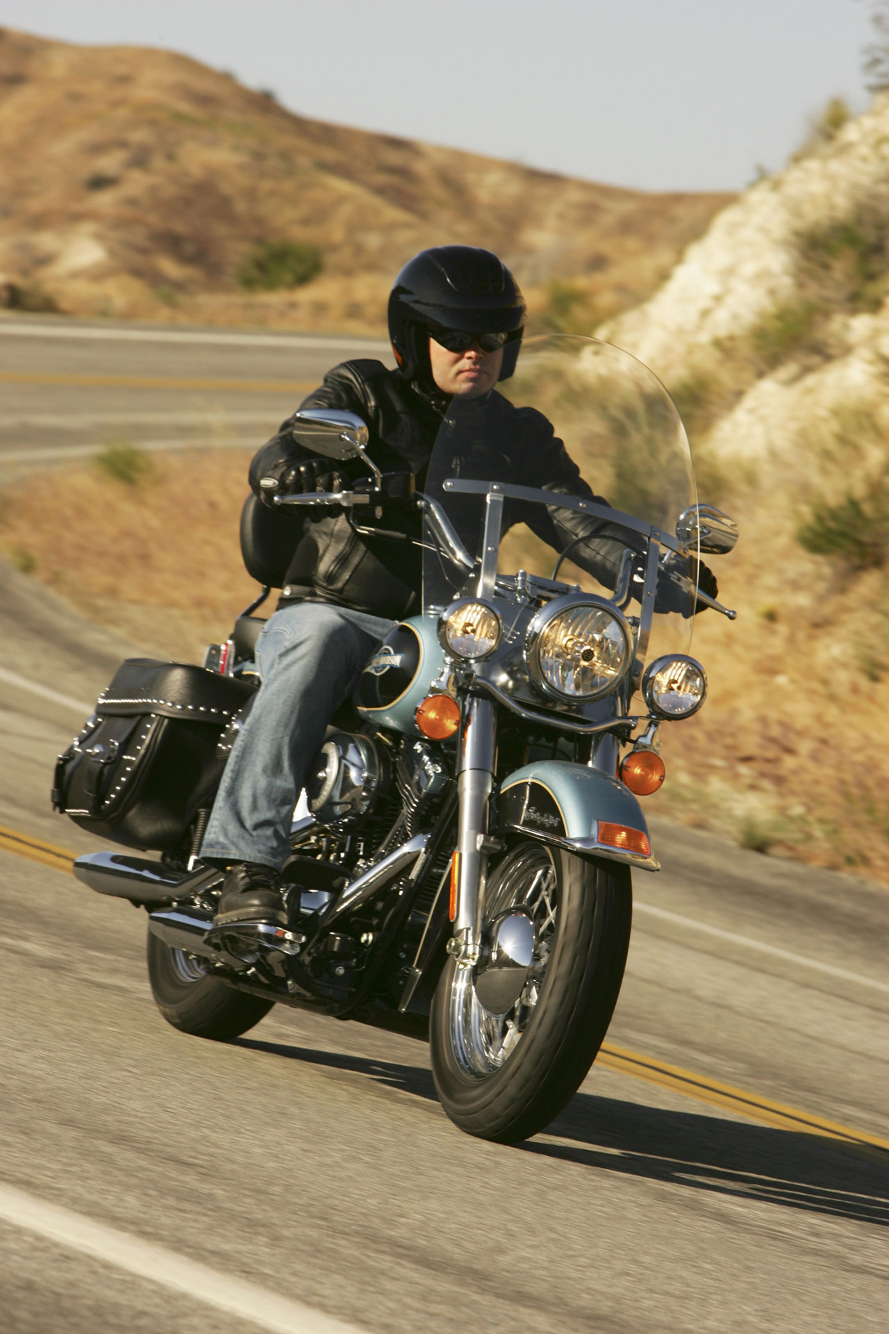 Harley-Davidson FLSTC Heritage Softail Classic 2007 wallpapers #134392