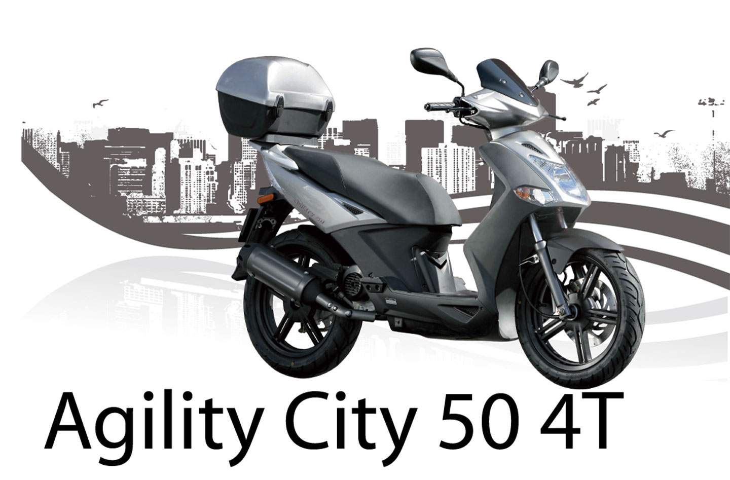 Kymco Agility 50 2008 wallpapers #139548