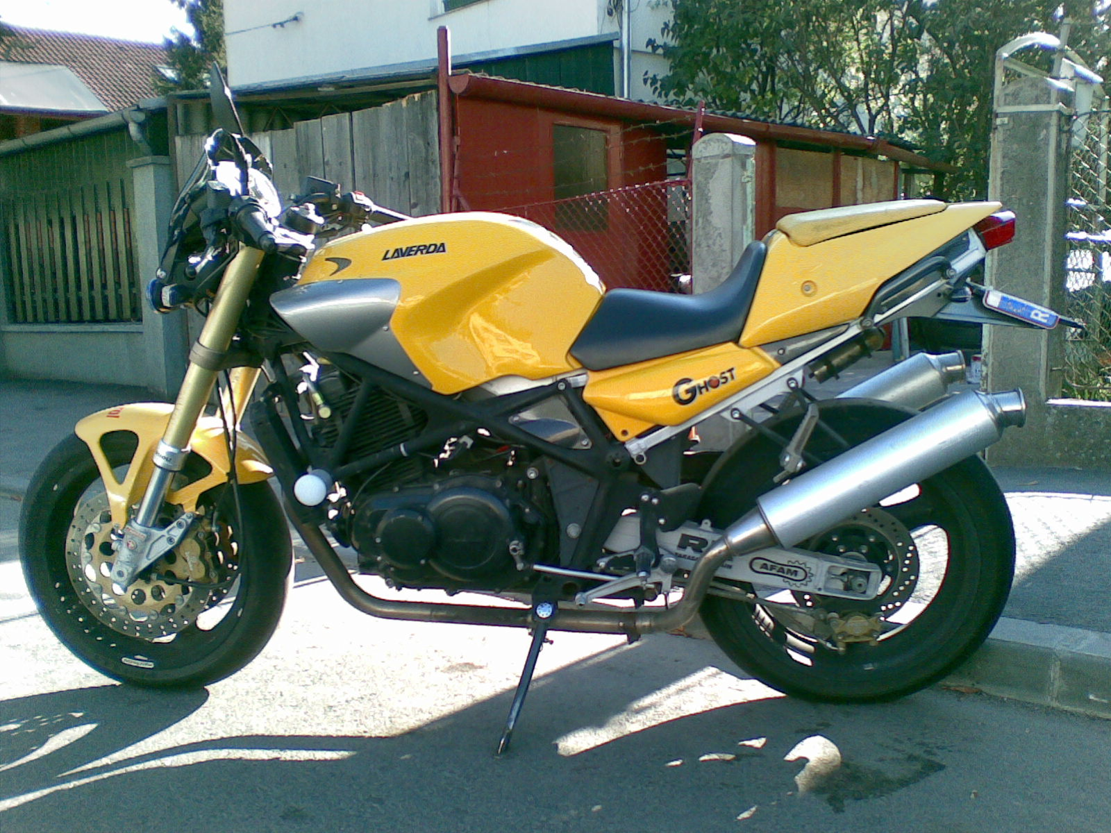 Laverda 650 Ghost Strike images #101811