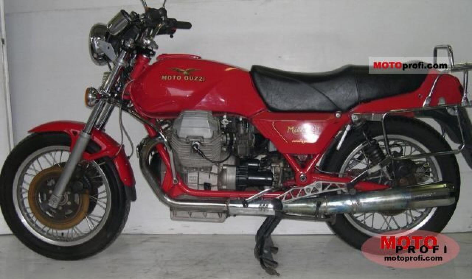 Moto Guzzi Mille GT 1000 1987 wallpapers #139449