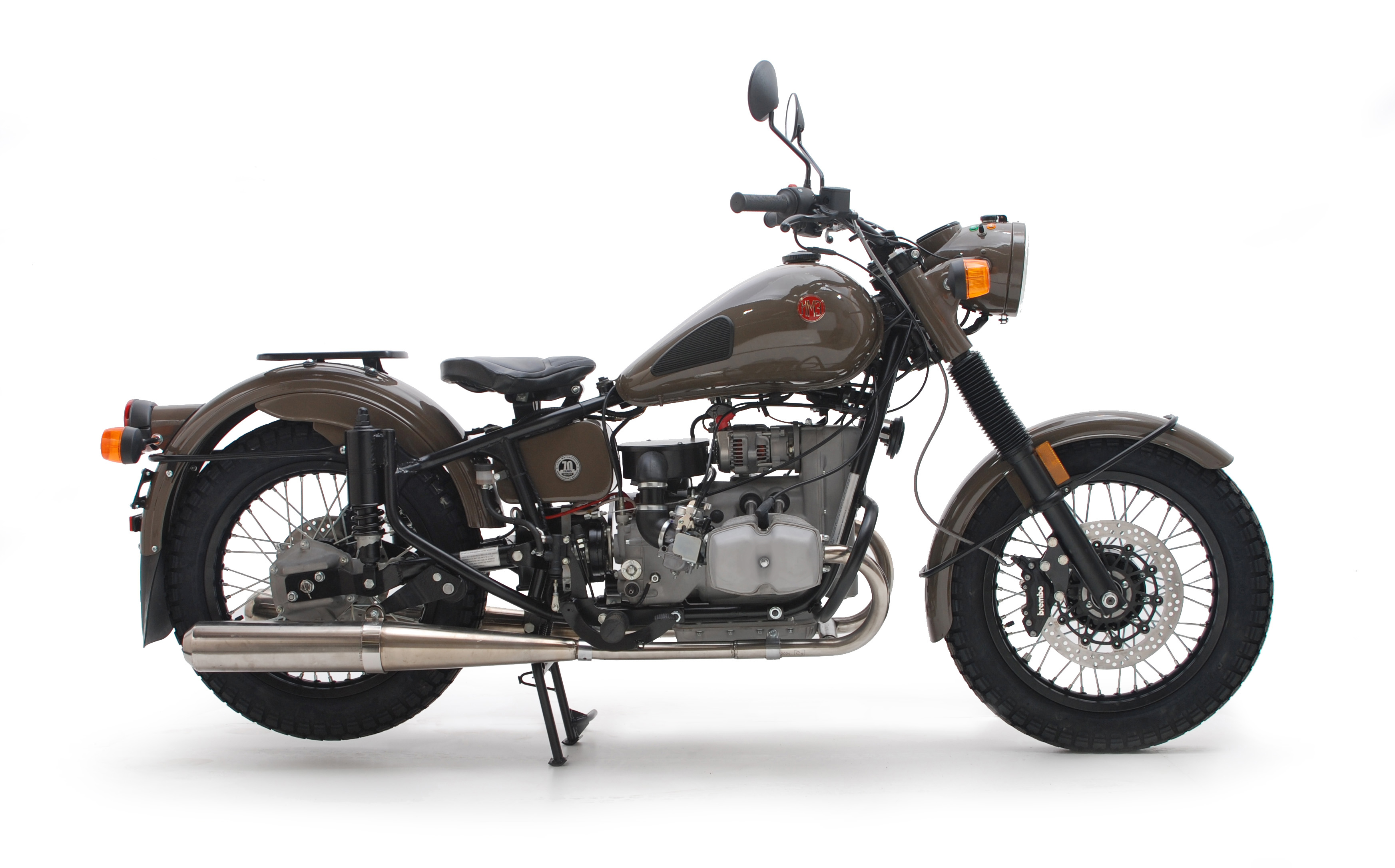 Ural M 67-6 with sidecar 1990 wallpapers #131615