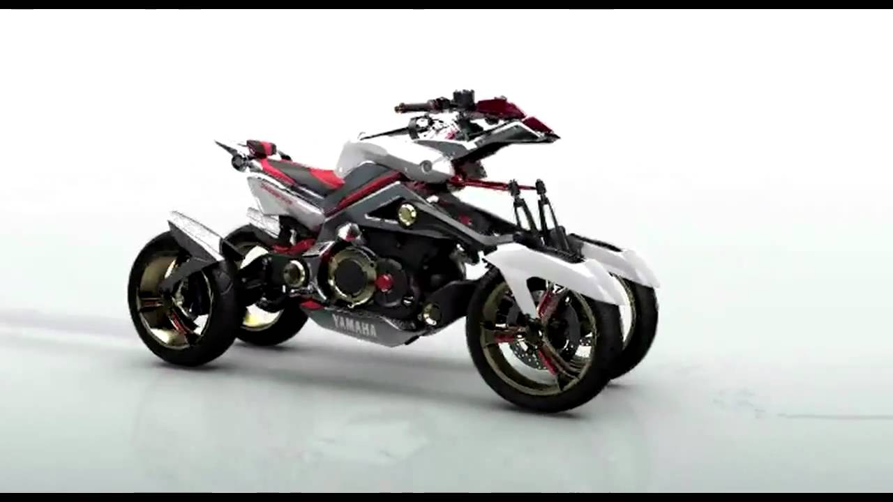 Yamaha Tesseract Concept 2007 wallpapers #136269