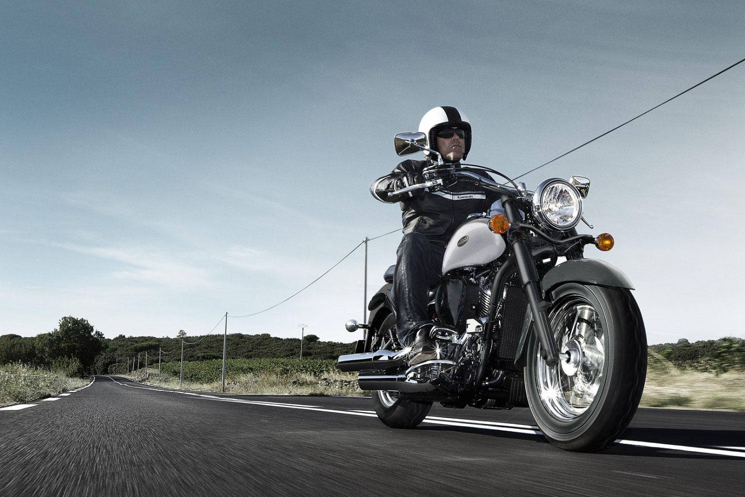 Kawasaki VN900 Classic Special Edition 2013 wallpapers #175440