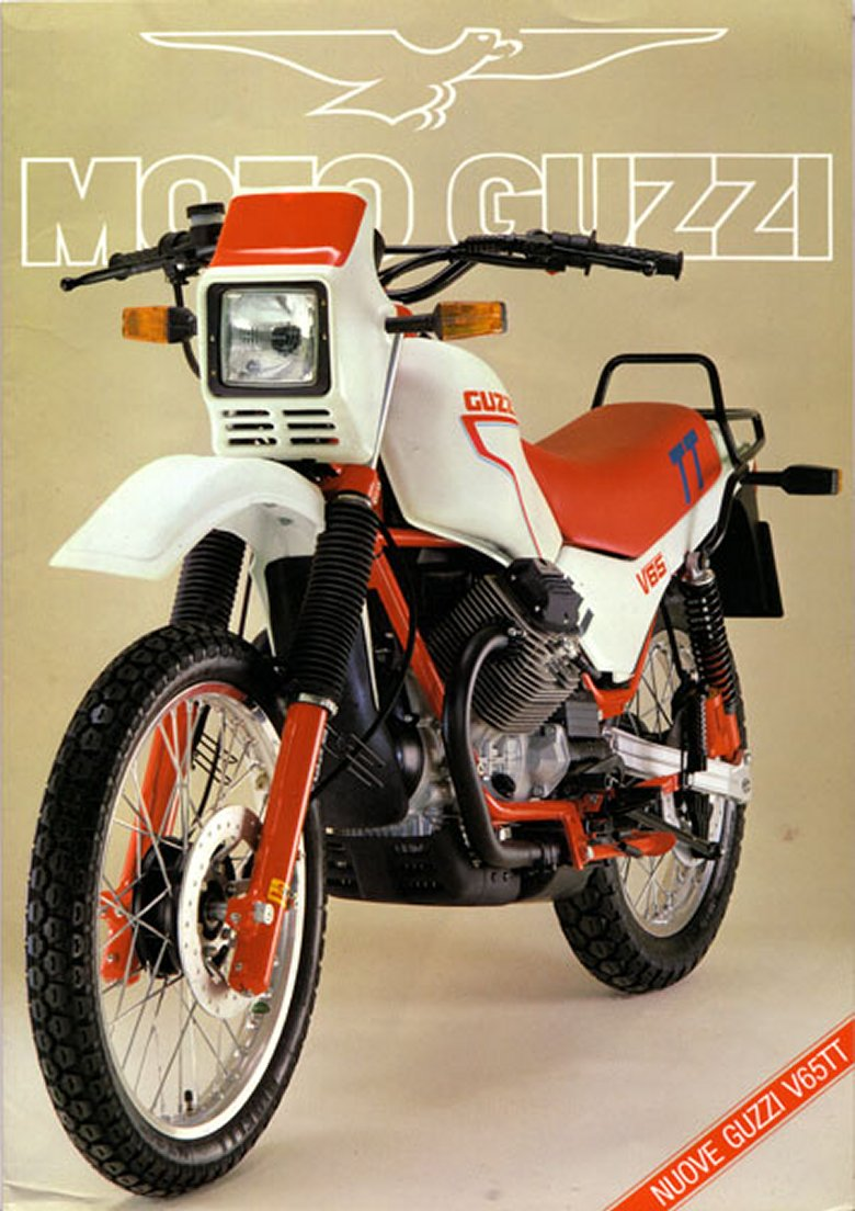 Moto Guzzi V65 Lario 1986 wallpapers #161068