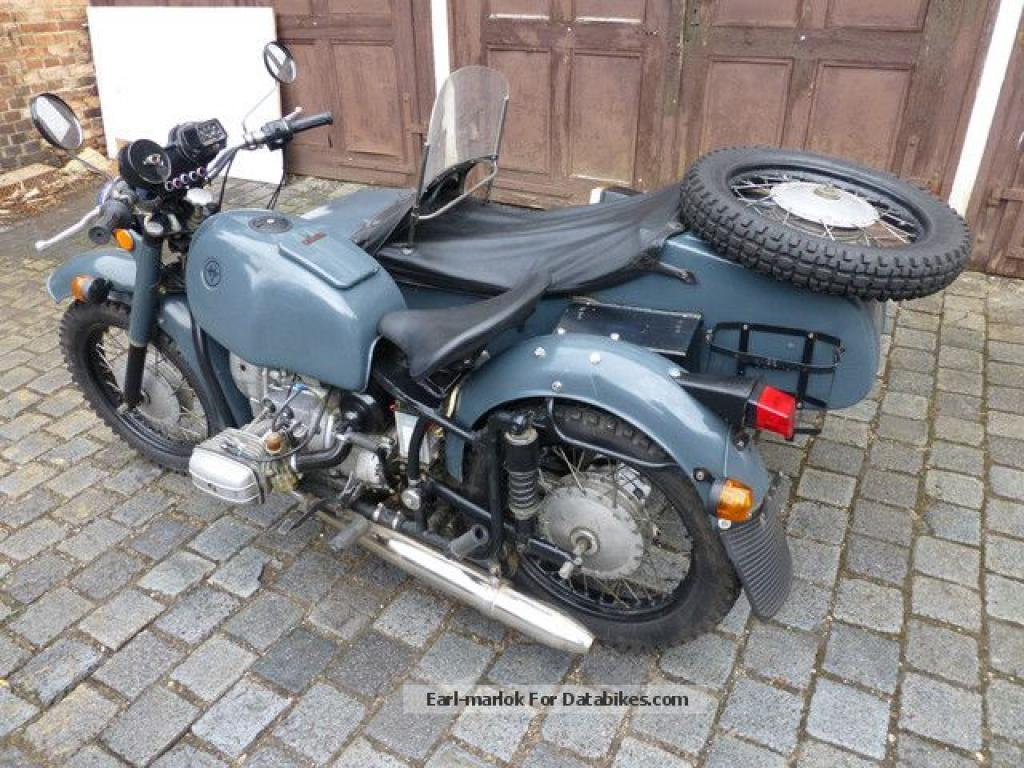 Dnepr MT 11 with sidecar 1992 images #153827