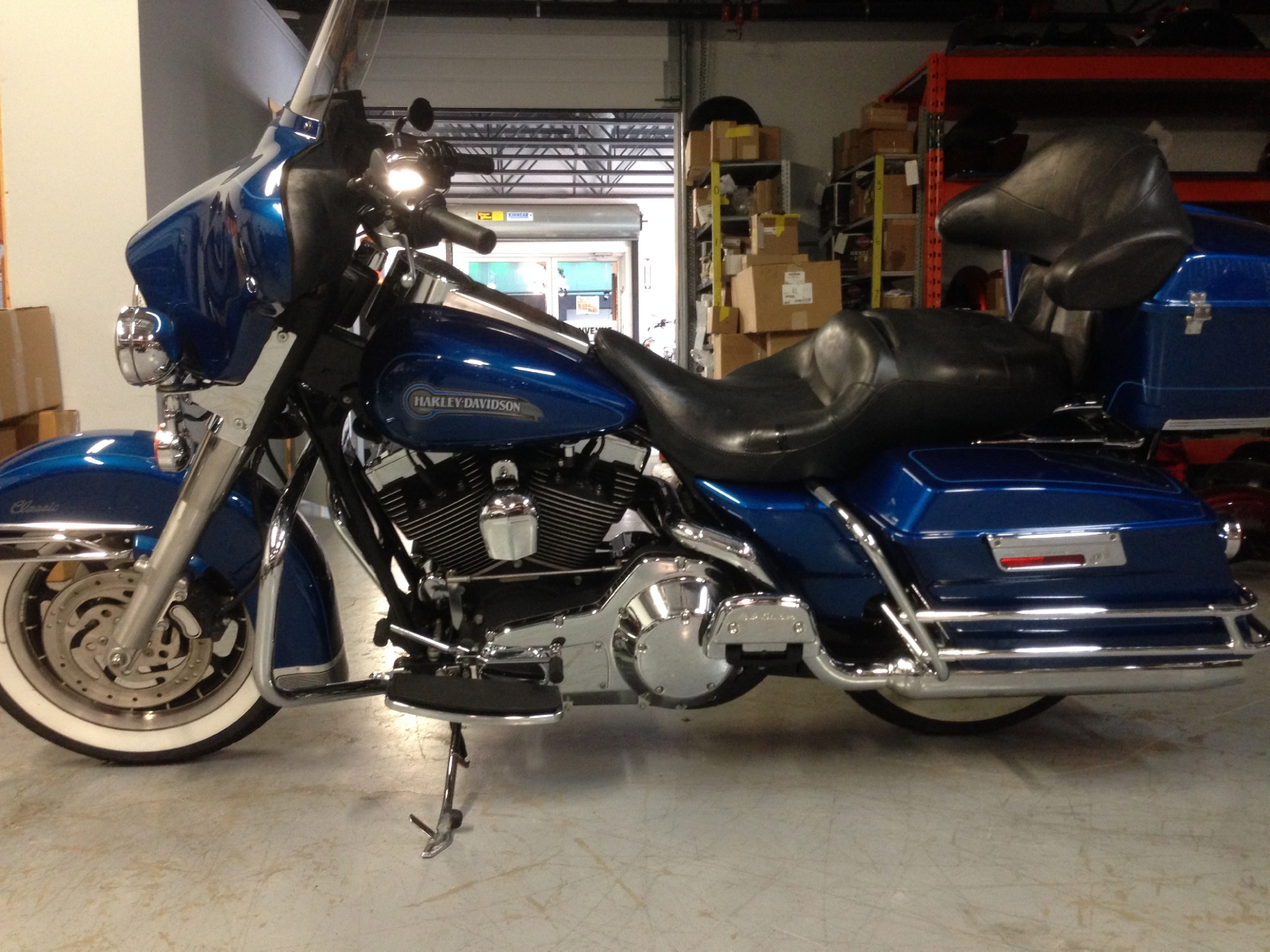 Harley-Davidson FLHTCI Electra Glide Classic Injection 2005 pics #17651