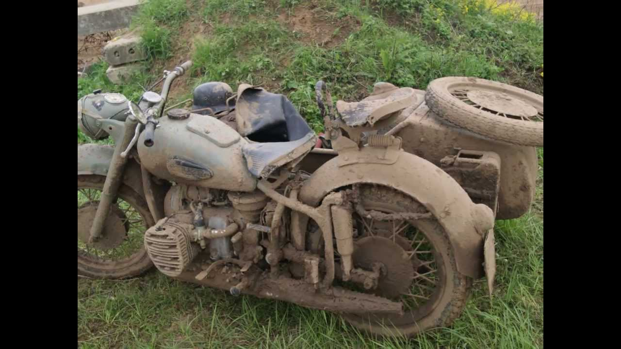 Ural M-63 with sidecar 1975 images #127081