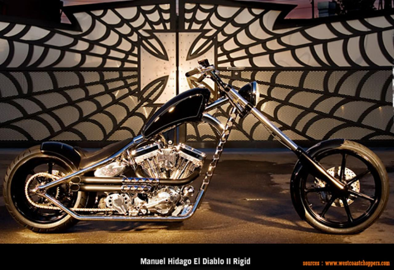 West Coast Choppers El Diablo Swingarm 2010 wallpapers #141729