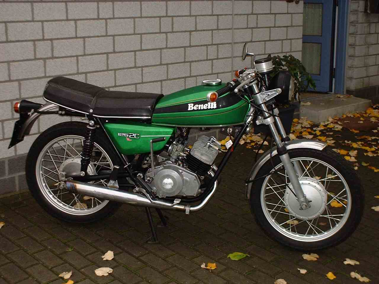 Benelli 125 Sport 1988 images #76321