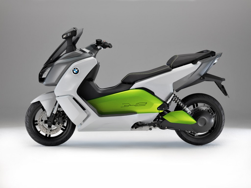 BMW C Evolution e-Scooter 2015 images #78304
