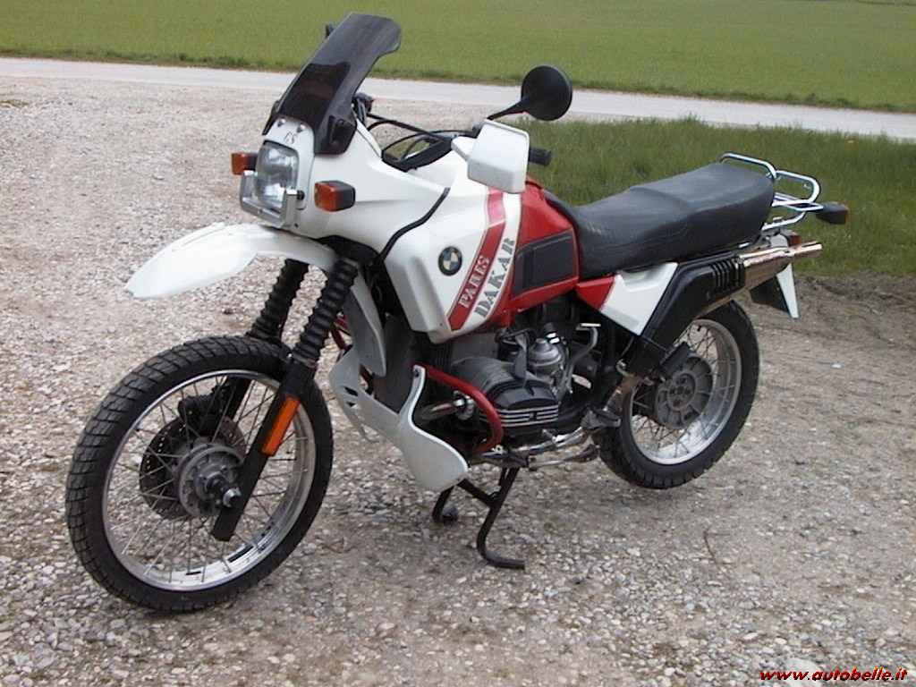 BMW R100GS Paris-Dakar images #7529