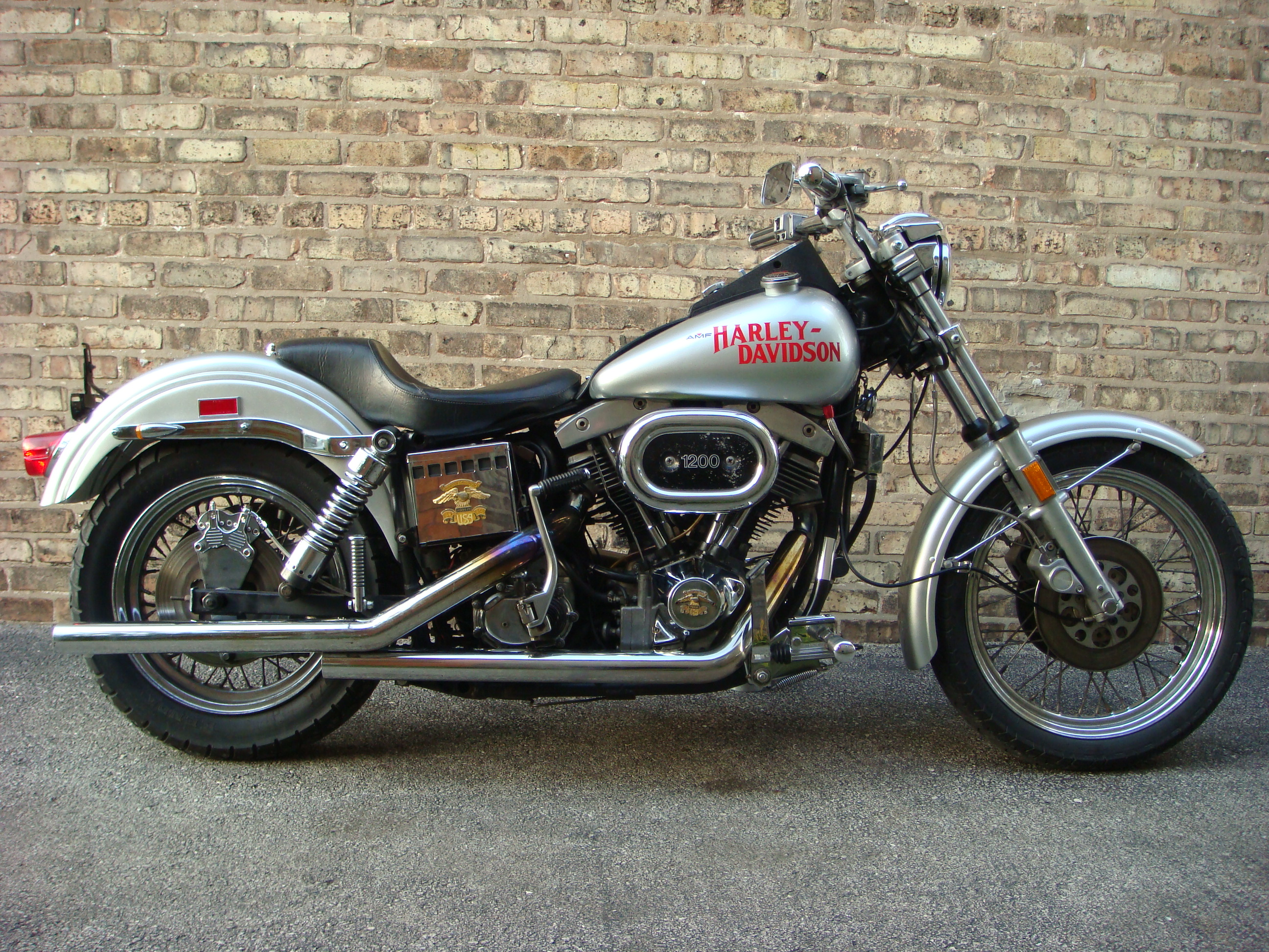 1978 Harley-Davidson FXS 1200 Super Glide Low Rider: pics, specs and