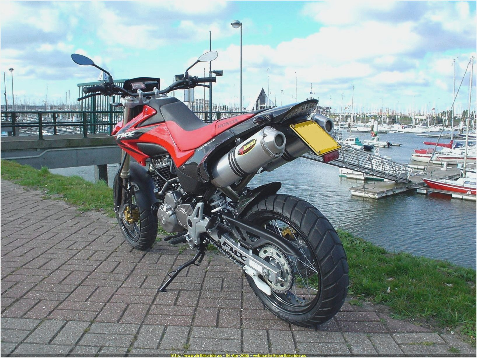 Honda FMX 650 2008 wallpapers #162355