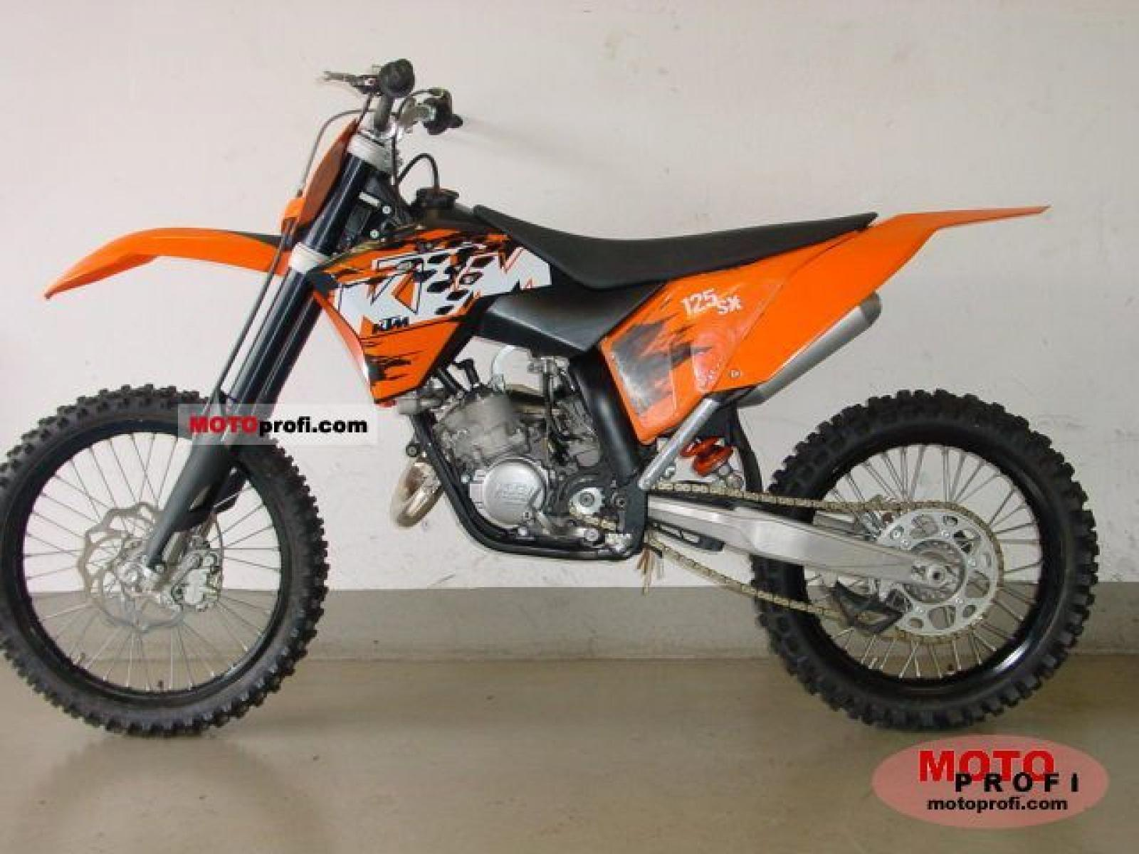 2007 ktm 125 sx pics specs and information. Black Bedroom Furniture Sets. Home Design Ideas