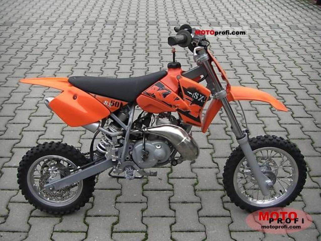 KTM 50 SX Pro Junior LC 2003 images #85740