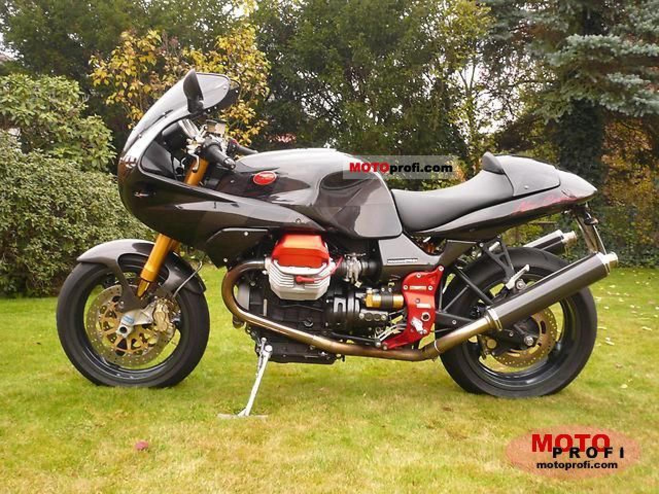 Moto Guzzi V11 Le Mans Nero Corsa 2004 wallpapers #160873