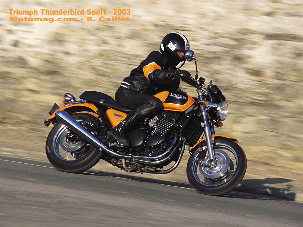 Triumph Thunderbird 900 Sport 2004 wallpapers #130128
