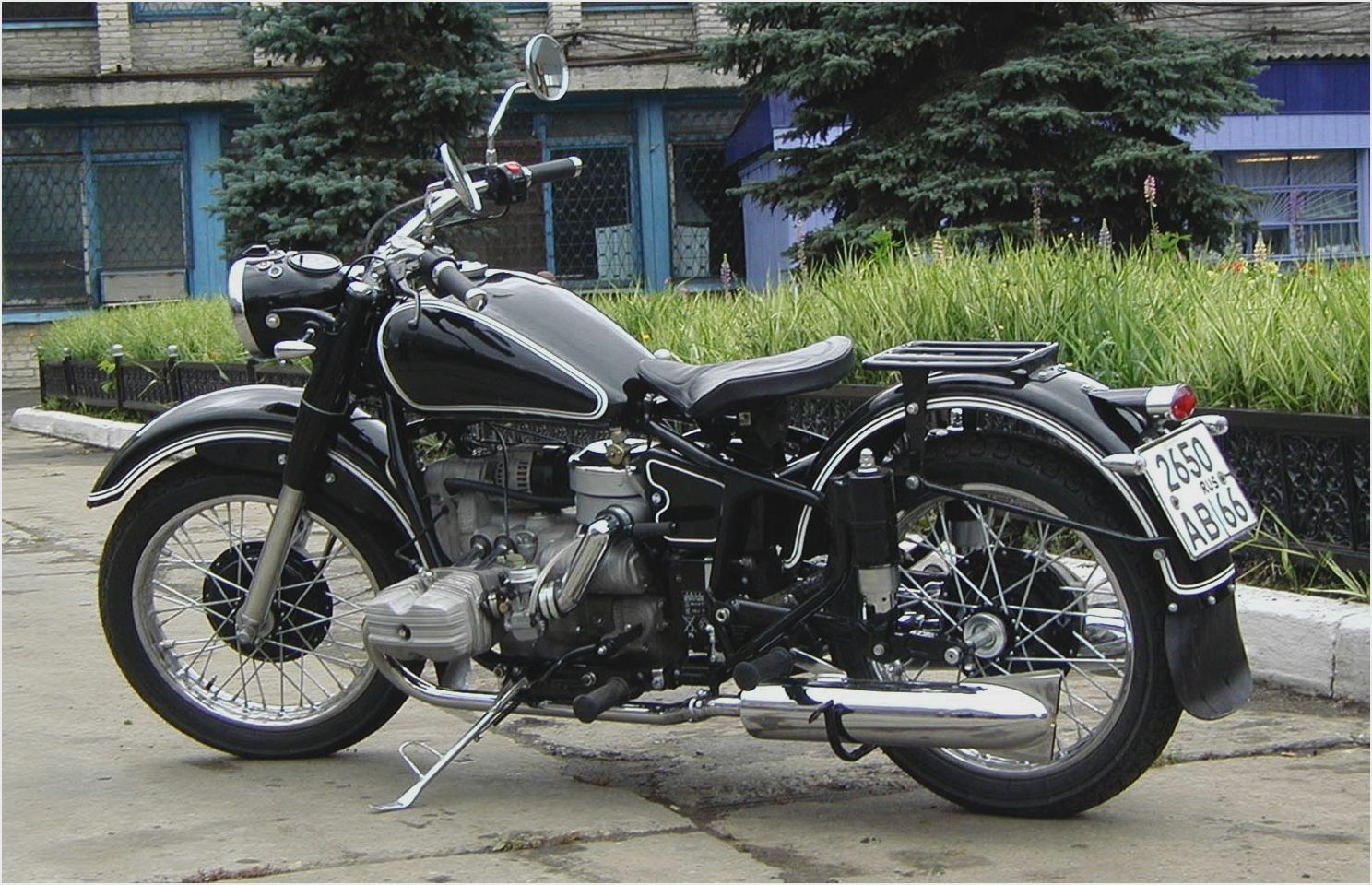 Ural M-63 with sidecar 1979 images #127166