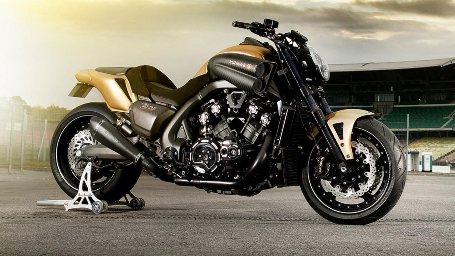 Yamaha VMAX Hyper Modified Marcus Walz 2013 images #92096
