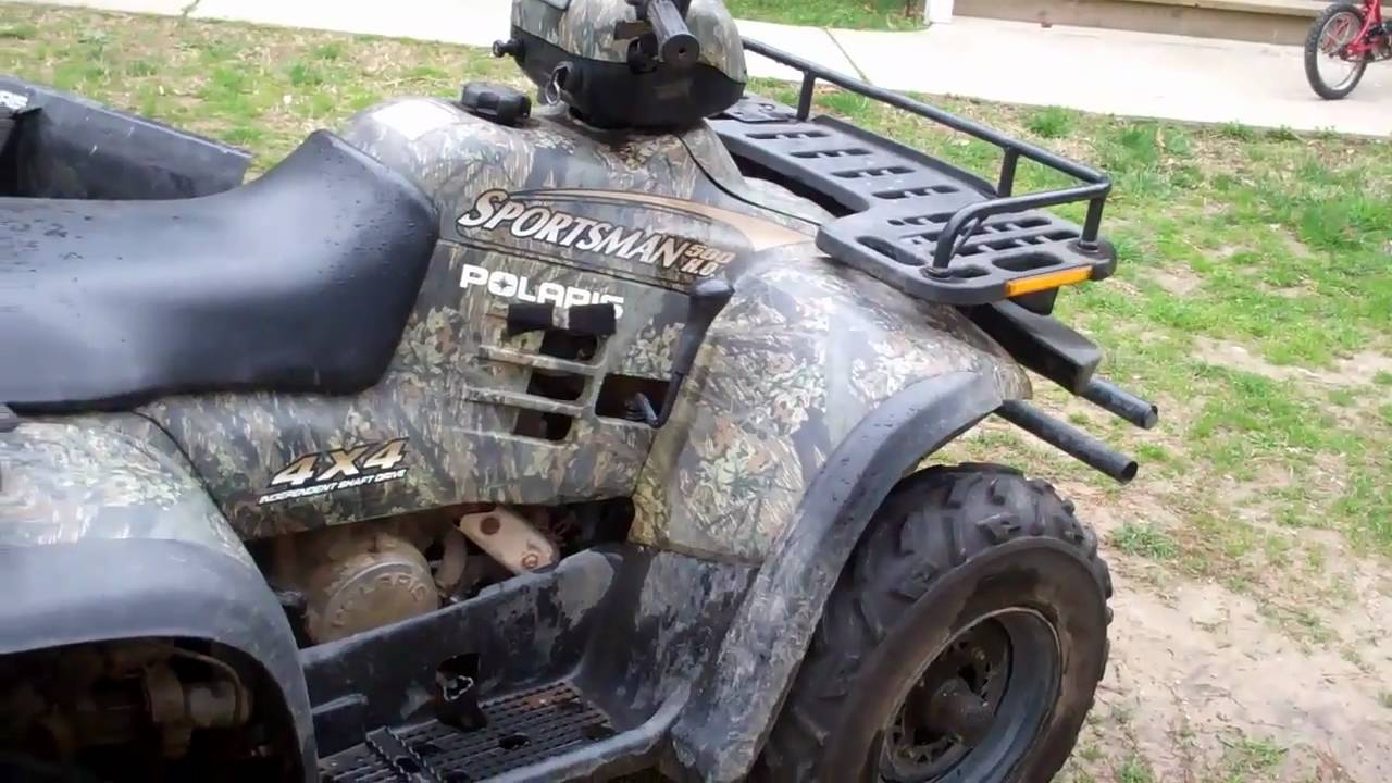 Polaris Sportsman 500 H.O 2001 images #120254