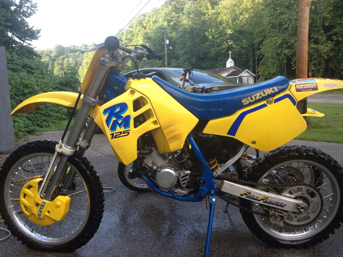 1995 Suzuki Rm 80 Pic 16 How Tall Is A 125 Dirt Bike Back Download Picture Size 1200x900 Next