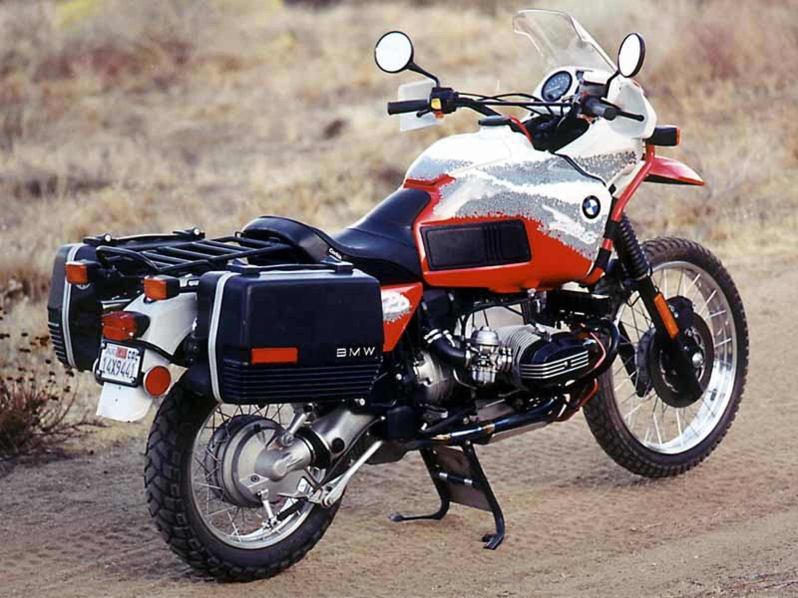 BMW R100GS Paris-Dakar images #7531