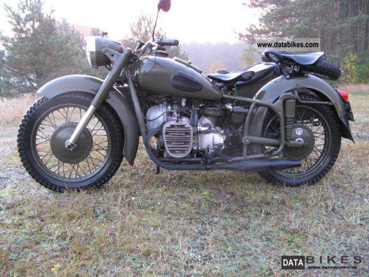 Dnepr MT 12 with sidecar 1982 images #70193