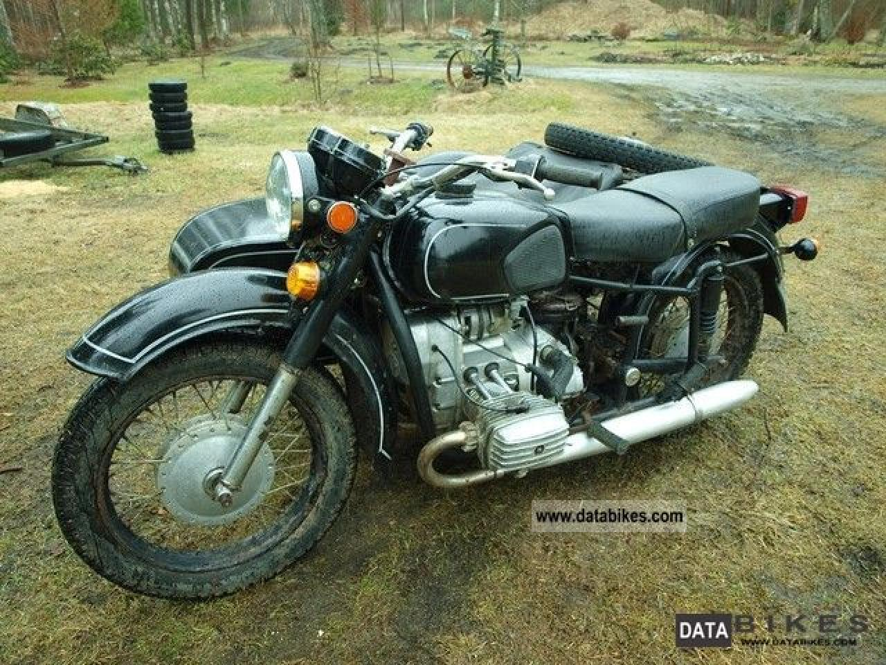 Dnepr MT 12 with sidecar 1984 images #71964