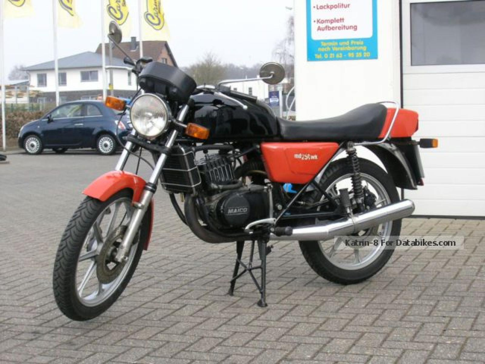 Maico MD 250 WK 1981 images #103497