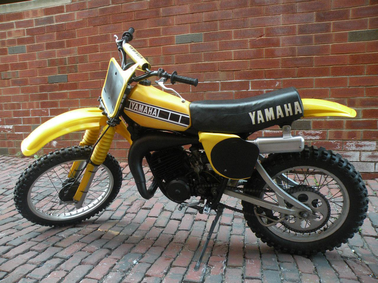 1975 yamaha ty 125 pics specs and information. Black Bedroom Furniture Sets. Home Design Ideas
