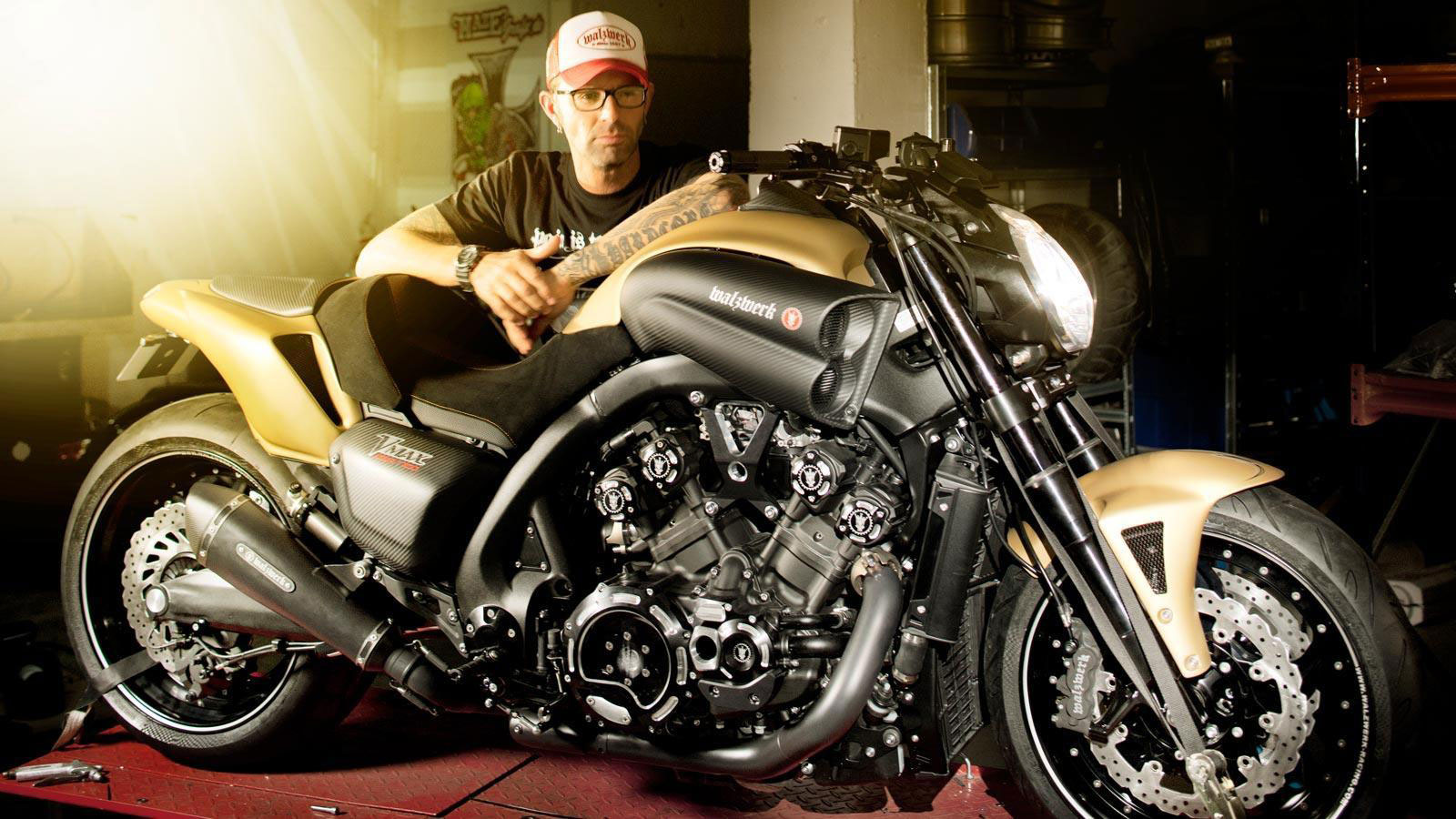 Yamaha VMAX Hyper Modified Marcus Walz 2013 images #92098