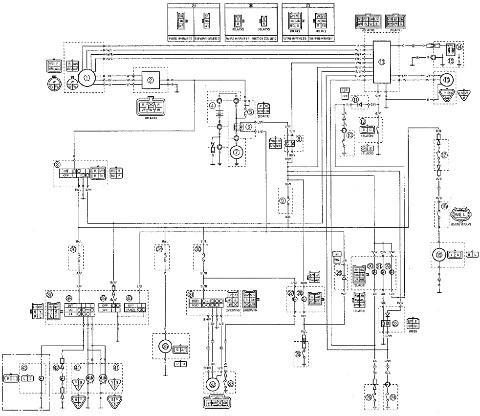 2003 yamaha warrior wiring diagram 2003 image wiring diagram yamaha 2001 warrior 350 wiring diagram yamaha on 2003 yamaha warrior wiring diagram