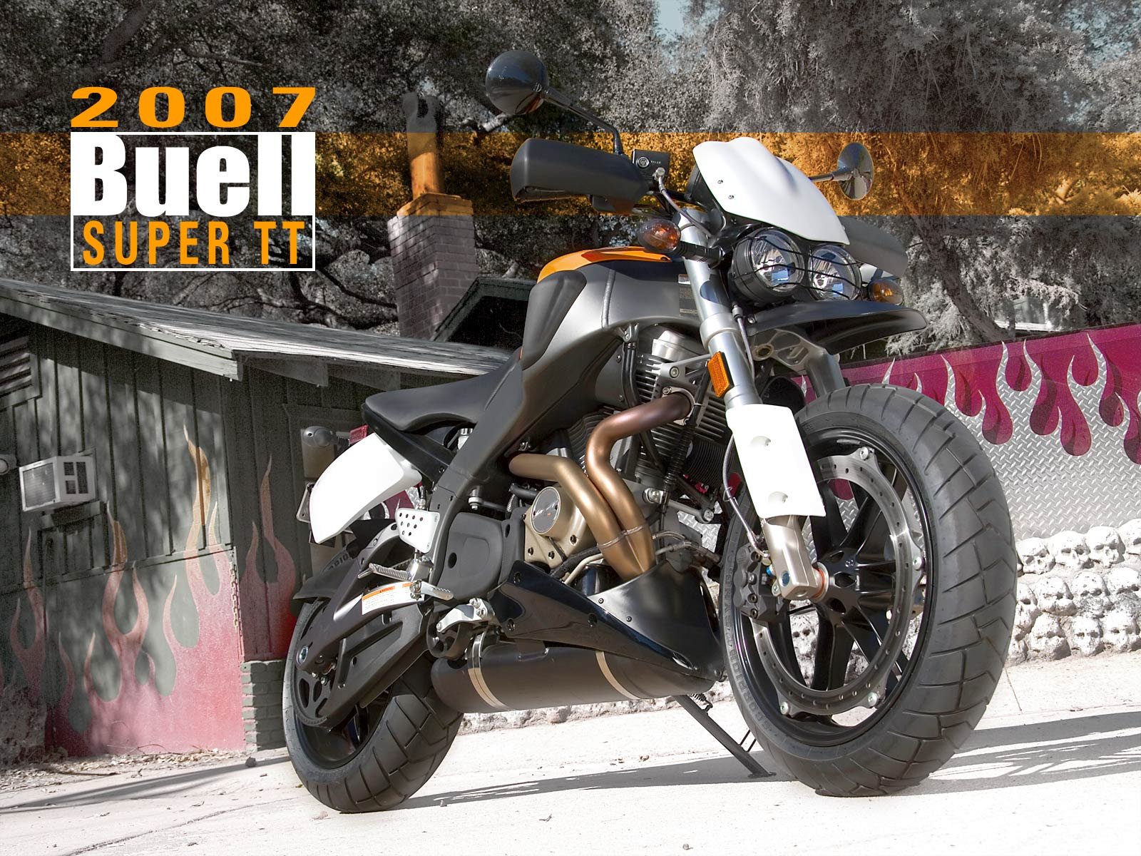 Buell Lightning Super TT XB12STT 2007 images #66350
