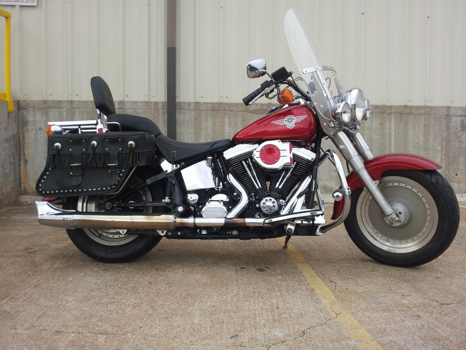 1991 harley davidson flstf fat boy pics specs and information. Black Bedroom Furniture Sets. Home Design Ideas