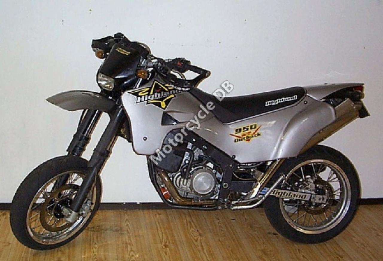 Highland 950 V2 Outback Supermoto 2008 images #169803