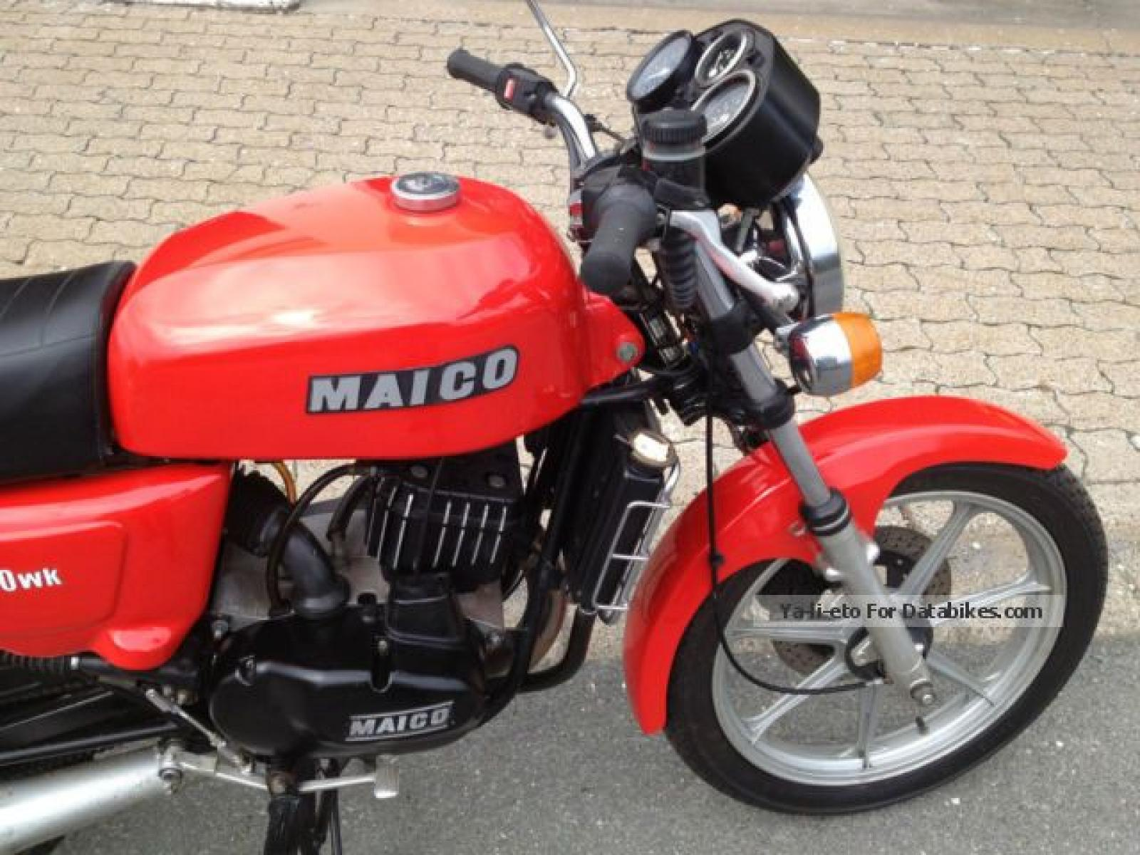 Maico MD 250 WK 1981 images #103498