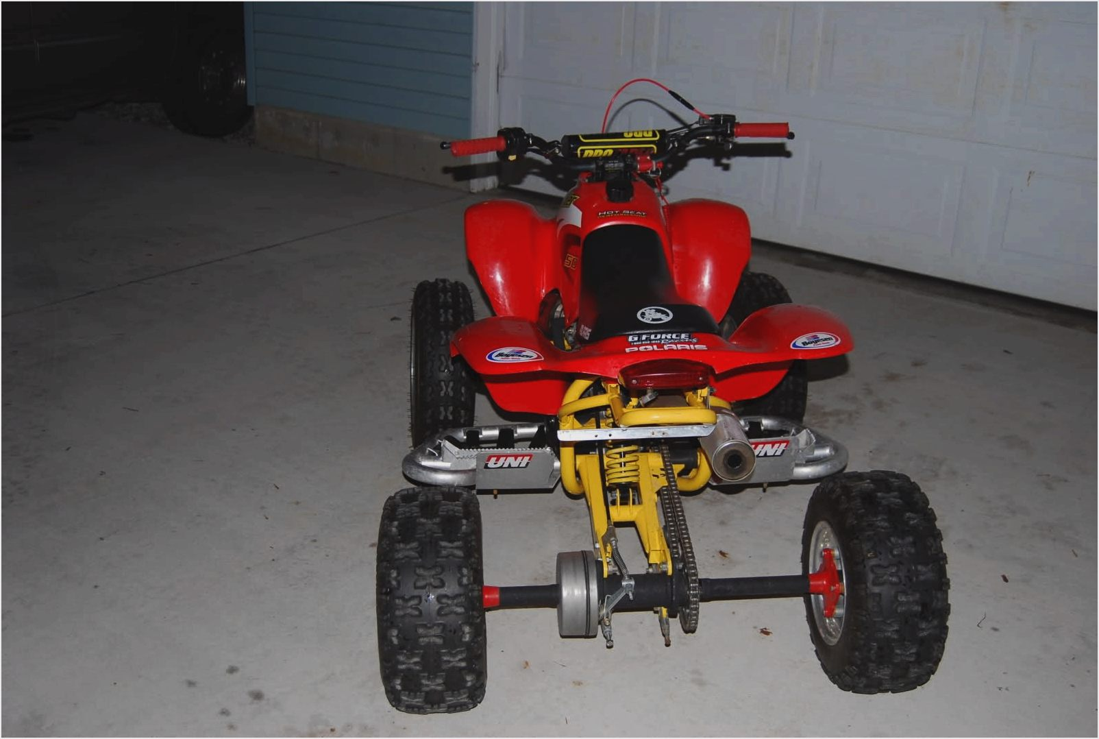 Polaris Scrambler 400 images #158393