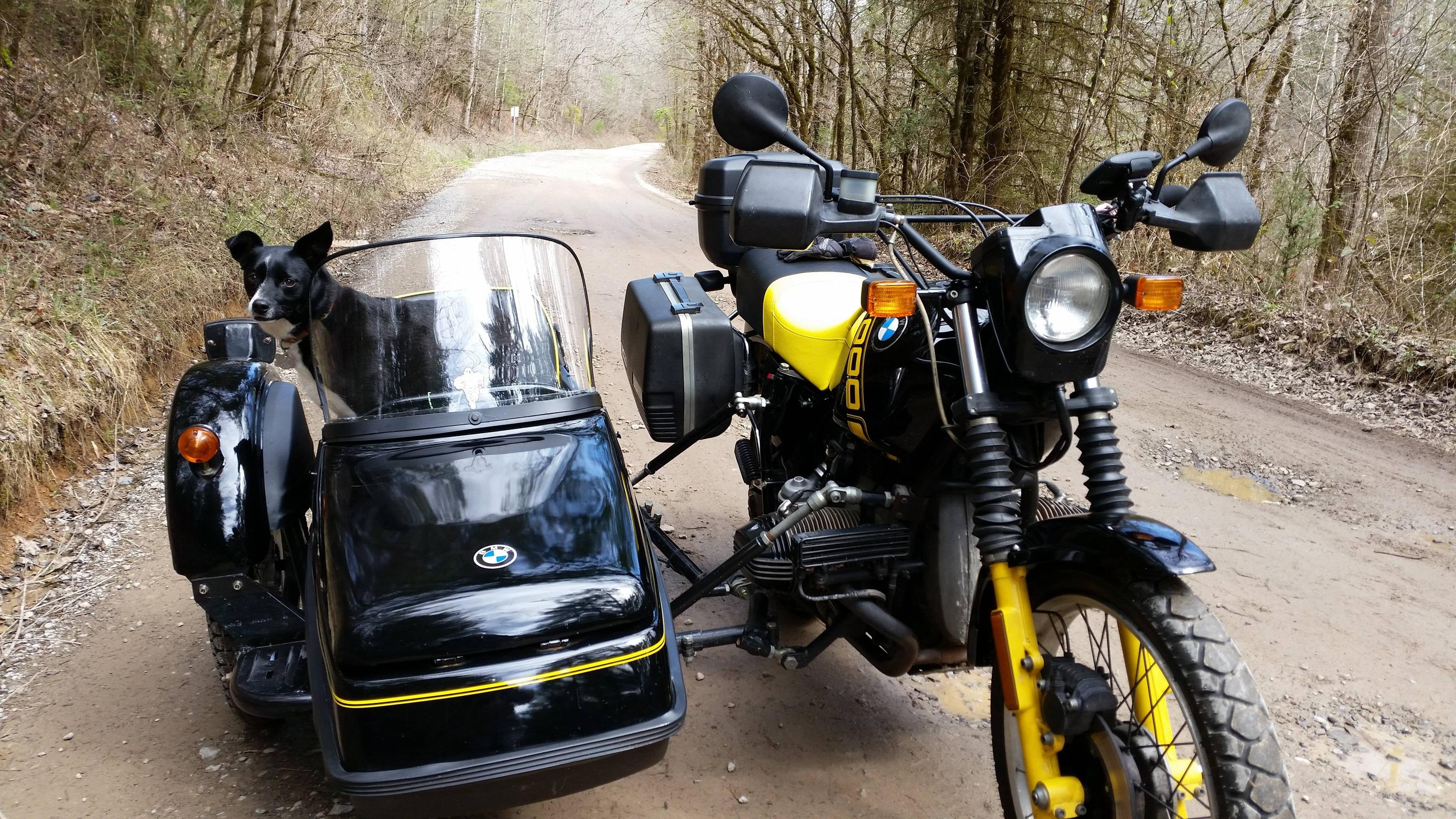 Ural M-63 with sidecar 1975 images #127085